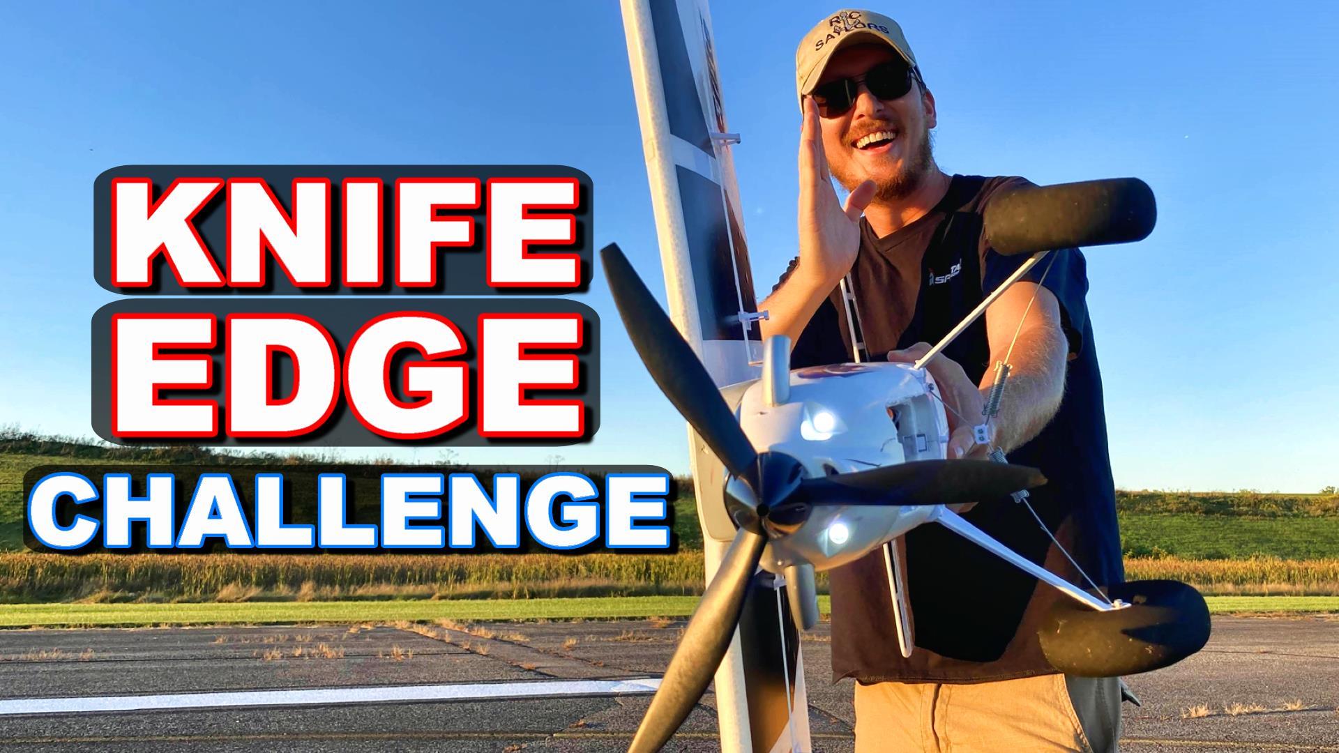 3 minute knife edge challenge Turbo Timber