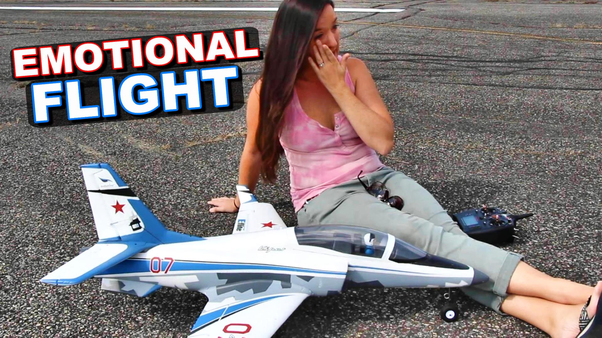 Abby Saylor emotional flight