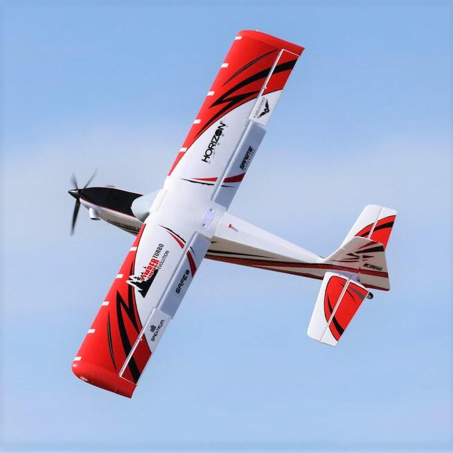 Knife Edge Aerobatic Maneuver