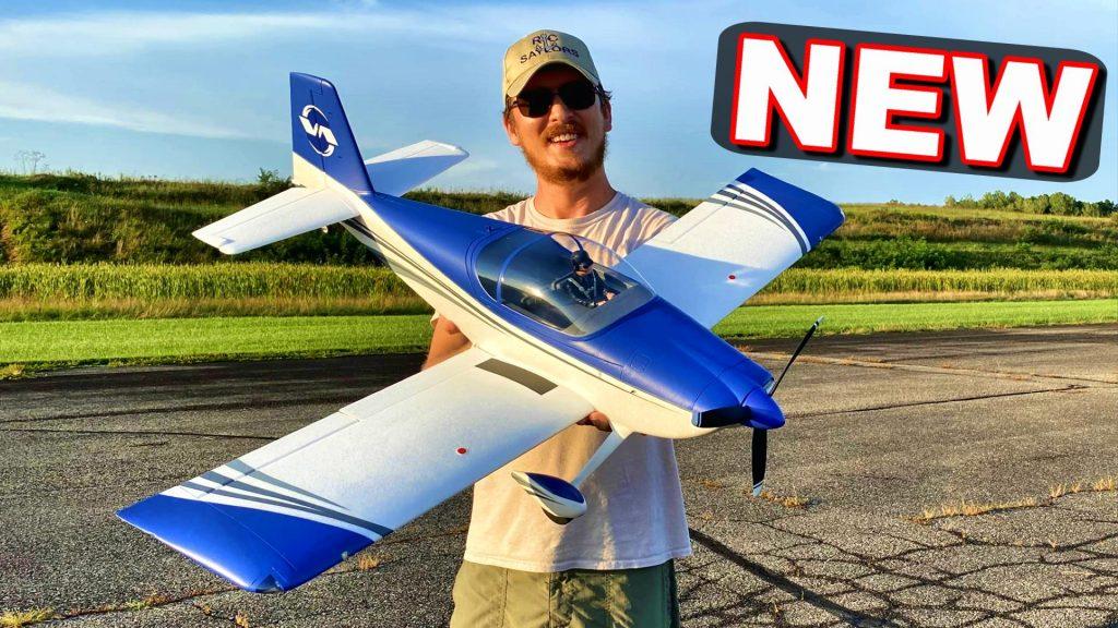 E-Flite RV7 rc plane