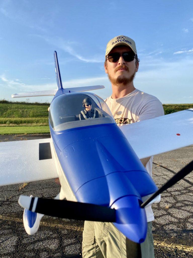 E-Flite RV-7 Prop and Pilot